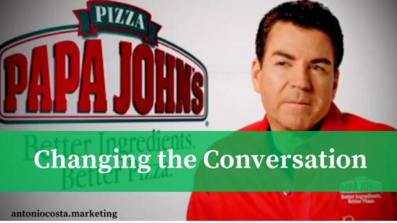 Papa John's Rebranding